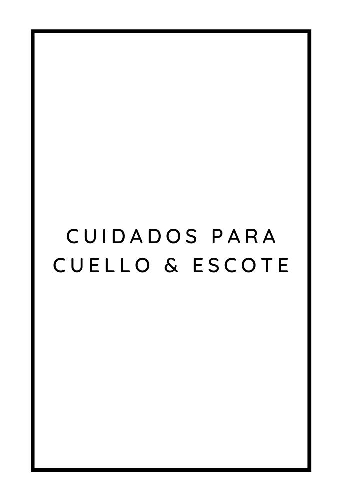 CUELLO & ESCOTE