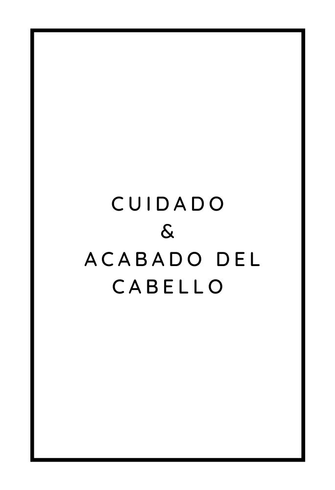 CUIDADO CAPILAR